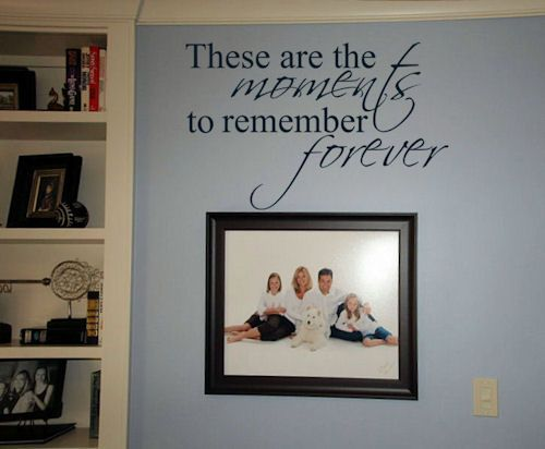 17 Best Family Wall Quotes On Pinterest Vinyl Wall Quotes Family Picture Collages And To Tell