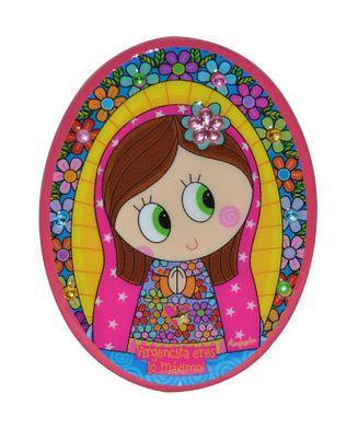 LA VIRGEN DE GUADALUPE~ Virgen Rosa