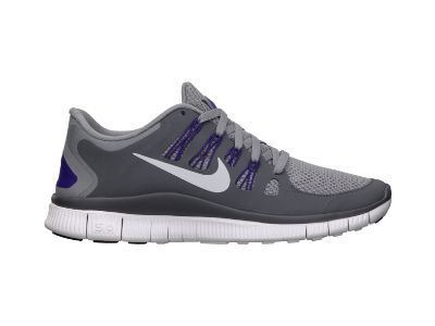 Nike Free 5.0  Women's Running Shoe – $100 – cute in grey…but I overpronate……