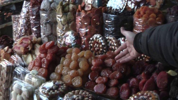 Центральный рынок Еревана в Армении