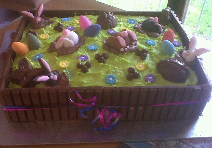 Our Easter cake
