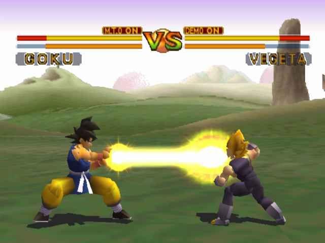 Goku vs Vegeta DBFB Best Dragon Ball Game ever! PS1