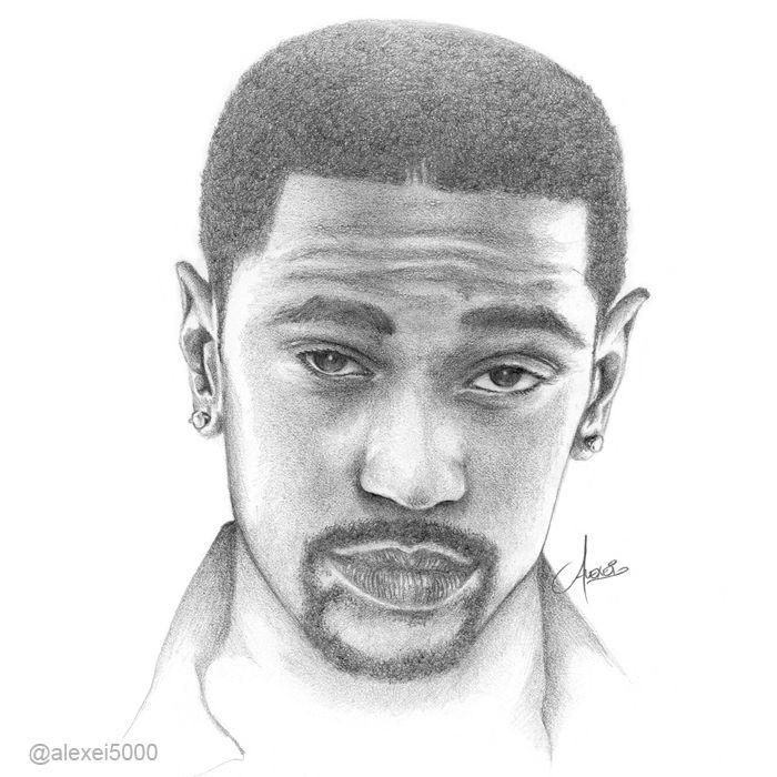 Big Sean Hiphop Drawing Hip Hop Art Pinterest Big