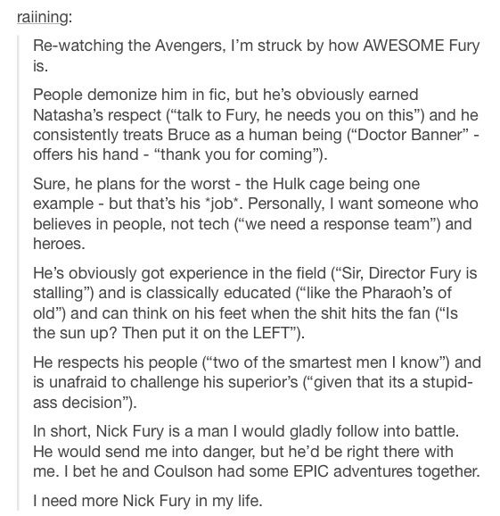 Nick Fury Avengers CAtWS captain America director fury
