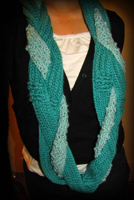 Hooked Holla Infinity Scarf Pattern By Hookers Don T Bite