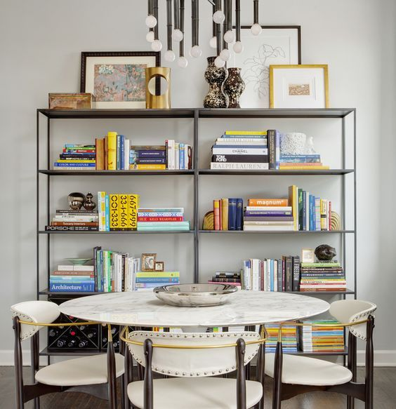 Etagere Book Styling Alternating Vertical Horizontal Every Books To Look Less Crowded Add Texture