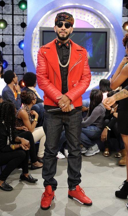 5001 Flavors custom red motorcycle jacket