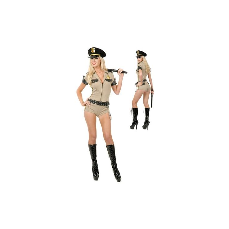 Costume and Party SuperCenter Adult Sexy Reno Sheriff Costume (52218)