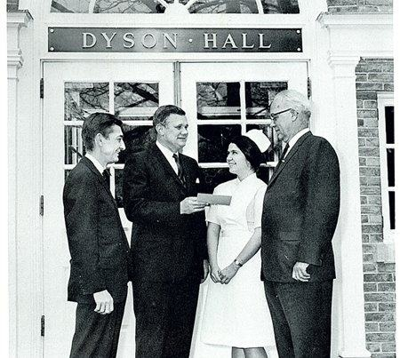The School of Nursing was founded in  1966.  Shortly after approval was given for the new Nursing Program by the New York State Department of Education, our trustee and alumnus, Dr. Charles H. Dyson, made available through the Dyson Foundation, the first nursing scholarship.