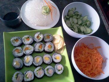 Receita de Sushi vegetariano - Tudo Gostoso