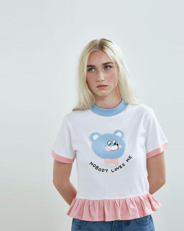 Lazy Oaf Nobody Loves Me T-shirt