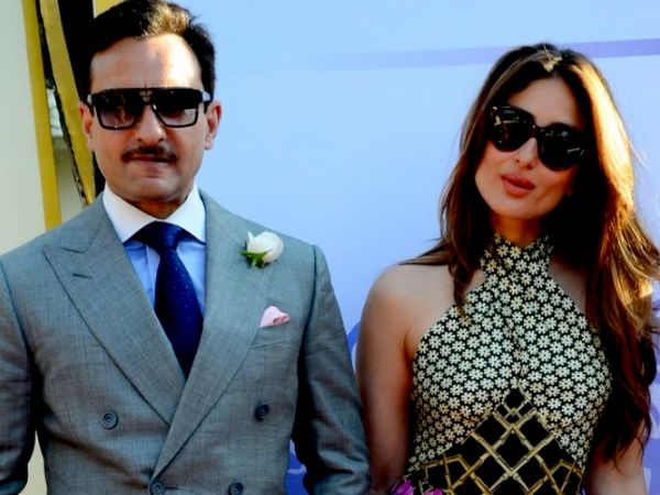Saif Ali Khan has a funny take on where Kareena Kapoor Khan will deliver their baby!