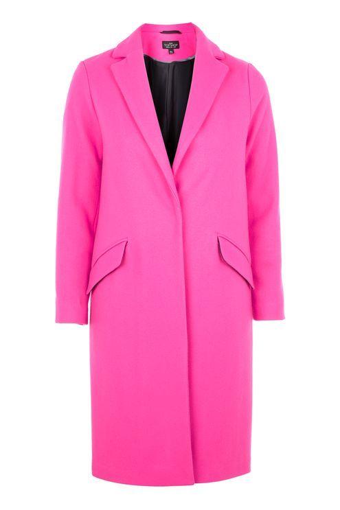 PETITE Fluro Crombie Coat #petite #fashion #nyc #topshop #winterfashion