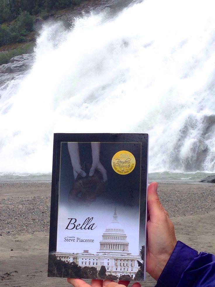 Bella does the Mendenhall Glacier in Juneau, AK!