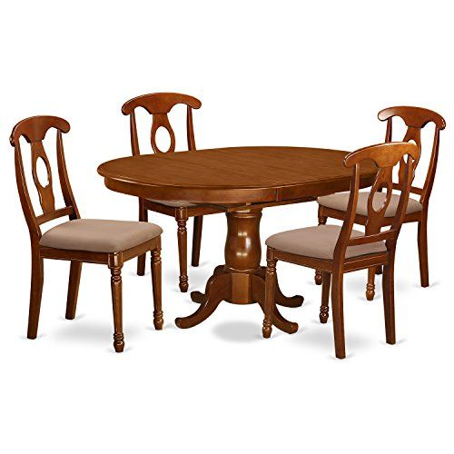 East West Furniture PONA5SBRC 5Piece Dining Table Set U003eu003eu003e Check Out The  Image By