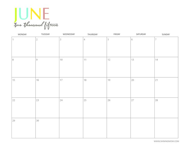 Best Calendars Images On   Free Printable Calendar