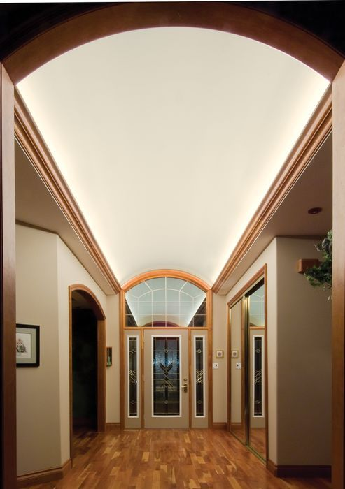 Accent Vaulted Ceilings With Led Cove Lighting By Nsl Or