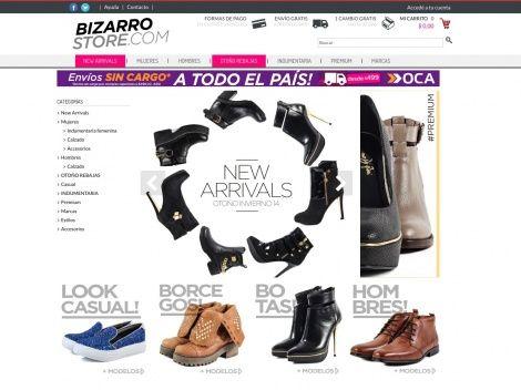 Tienda online con mucha onda donde vas a encontrar una gran variedad de calzado y accesorios de moda!
