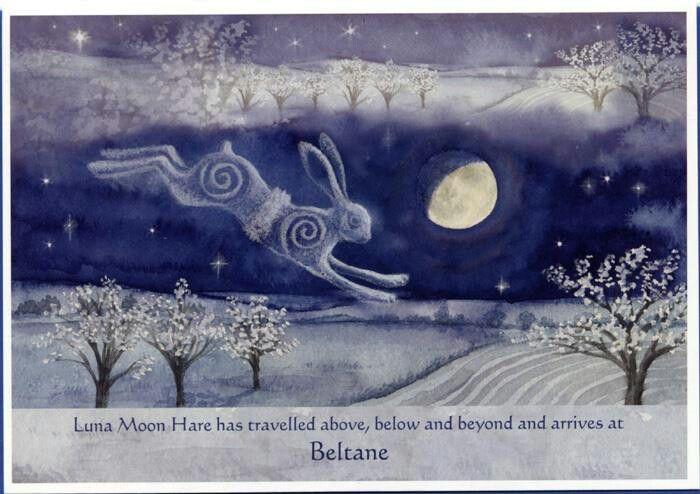 Luna Moon Hare, Beltane, Glastonbury