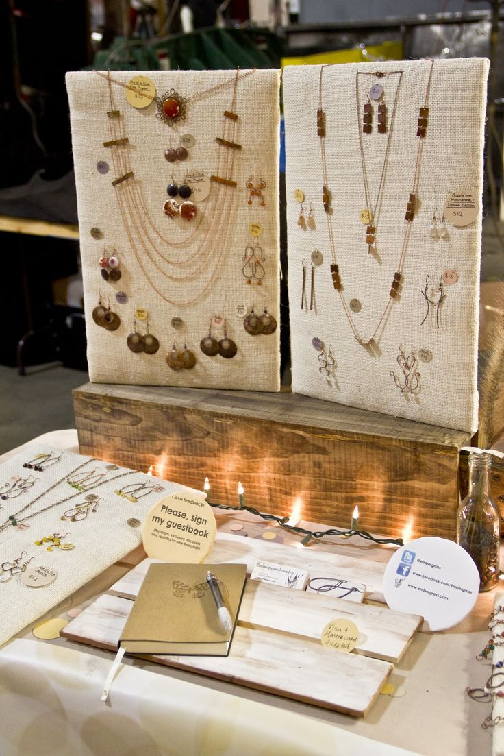 embergrass jewelry blog how to make craft fair table risers