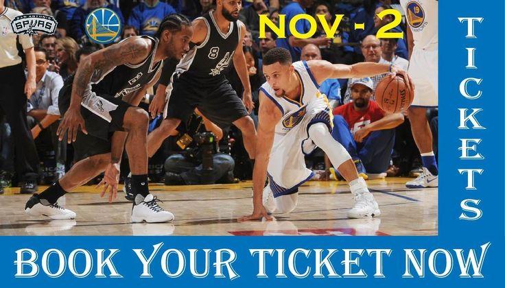 San Antonio Spurs vs Golden State Warriors Tickets | NBA Spurs vs Warriors – Nov 2