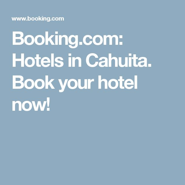 Booking.com: Hotels in Cahuita. Book your hotel now!