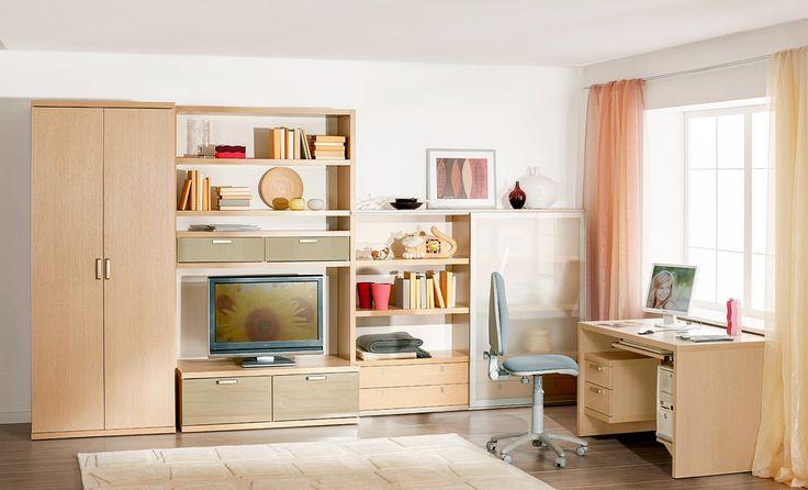 Мебель для подростковой комнаты | Дизайн интерьера современной детской #астрон #мебель #astron #подростковые #детские