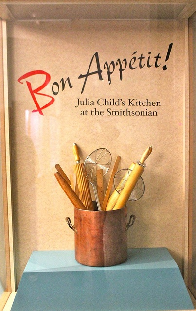 Julia Child's Kitchen  Have not been since my early twenties, but plan on visiting before I die or 70 whichever comes first.