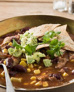 Lunch: Mexican Style Chicken Soup