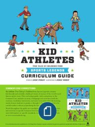 Curriculum Guide for Kid Athletes  #KidLegends #books #education