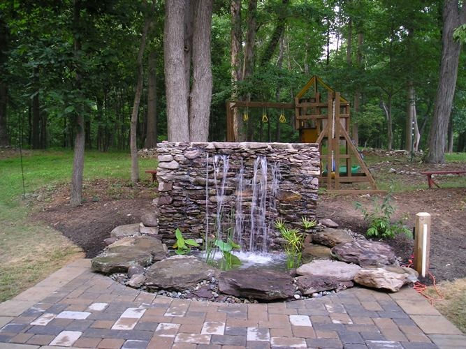 17 best images about water features on pinterest copper for Backyard water feature