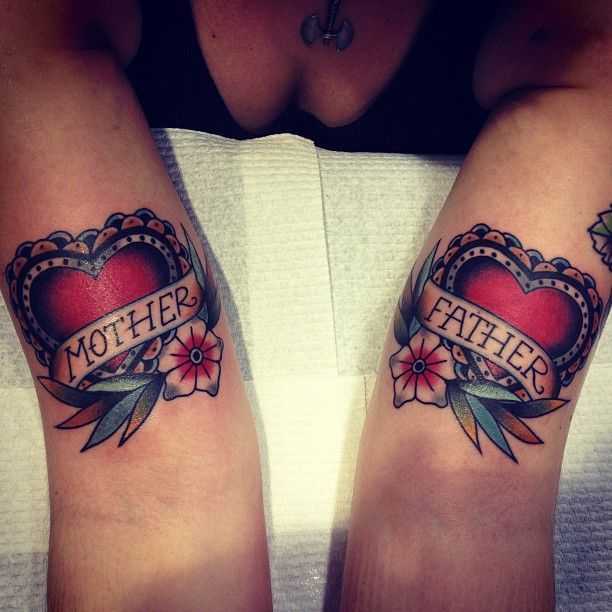 Heart And Mom Dad Tattoo: 1000+ Ideas About Tattoos For Babies On Pinterest