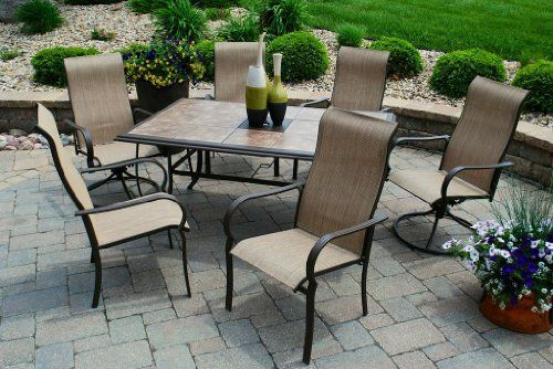 pin by katie kauffman on backyard outdoor dining furniture discount patio furniture patio. Black Bedroom Furniture Sets. Home Design Ideas