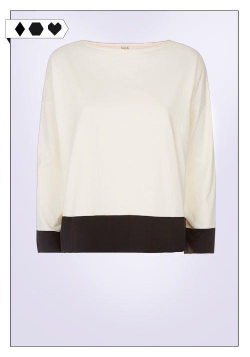 Casia Colour Block Top (People Tree):symbolsmall 100% Organic Cotton. Fair hergestellt in VEGAN/ECO/SOCIAL/*49€*