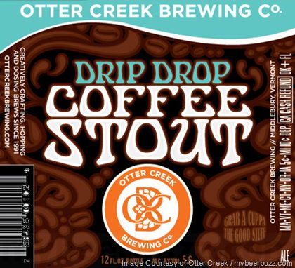 mybeerbuzz.com - Bringing Good Beers & Good People Together...: Otter Creek - Drip Drop Coffee Stout
