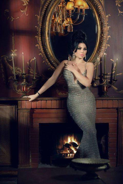 fashion, sparkling, and haifa wehbe image
