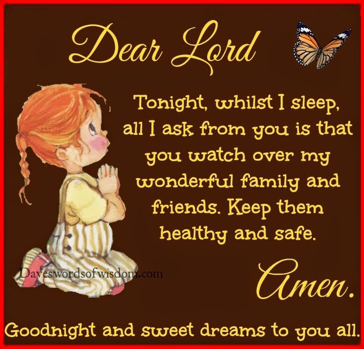 Goodnight Prayer For Family And Friends   Google Search. Night PrayerPrayer  QuotesSayings ...