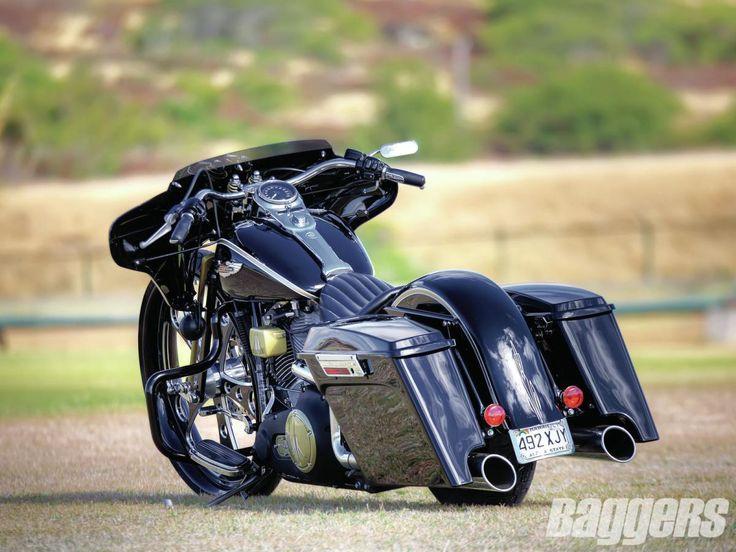 Harley Davidson Softail Baggers