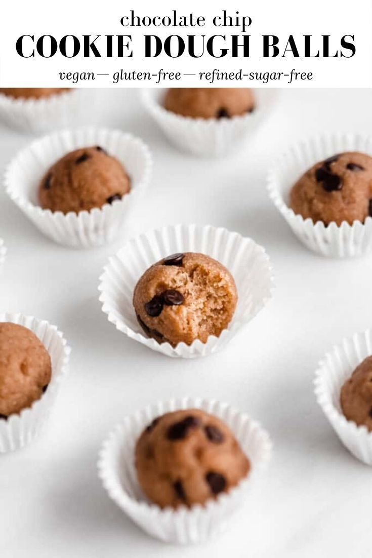 Chocolate Chip Cookie Dough Balls In 2020 Chocolate Chip Cookie Dough Chocolate Chip Cookies Make Chocolate Chip Cookies