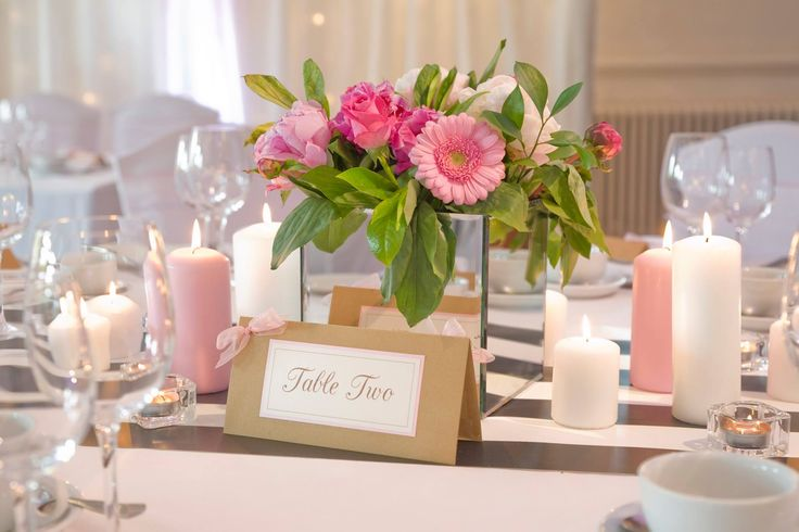 Kate Spade inspired wallpaper table runner by www.stressfreehire.com #venuetransformers - photo by Weddings at Silvermere