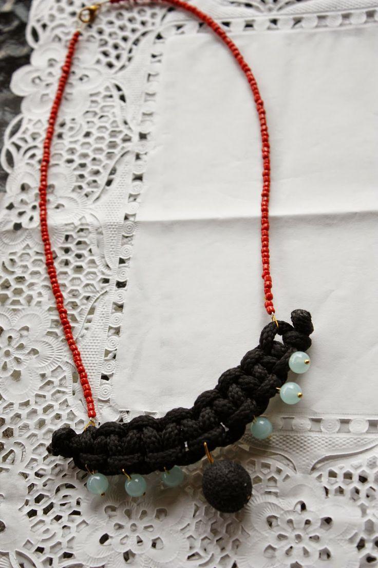 Χειροποίητα κοσμήματα, φυτικά καλλυντικα και σαπούνια, ιδέες, diy κατασκευές , διακόσμηση: Κολίε 4