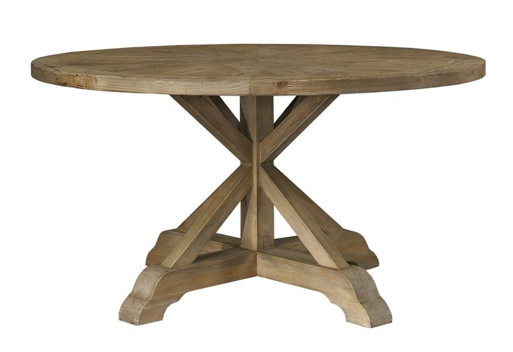 17 Best Ideas About Round Wood Dining Table On Pinterest