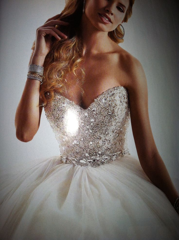 Wedding Dresses Without Bling : Bling wedding dresses bridal gowns beautiful
