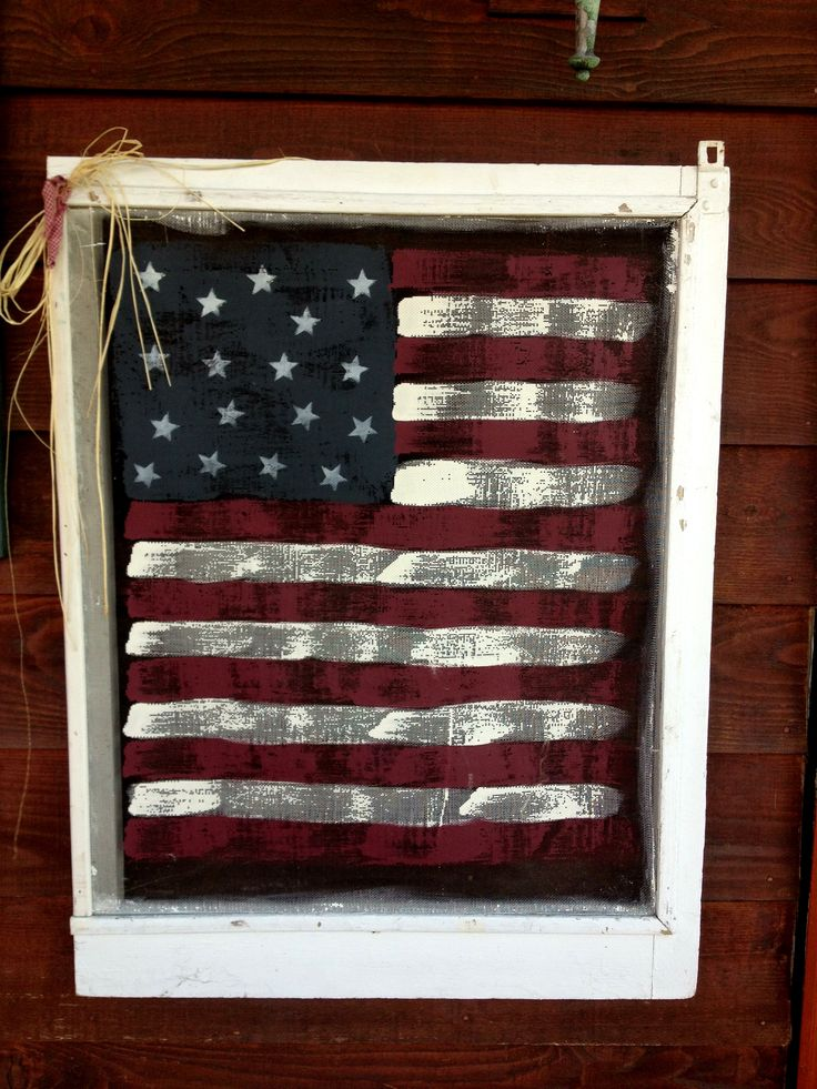 Paint an old window screen!!