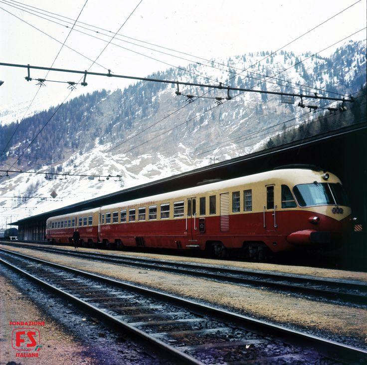 TEE Mediolanum, sulla relazione internazionale Milano-Monaco di Baviera, in sosta a Bolzano (1965)