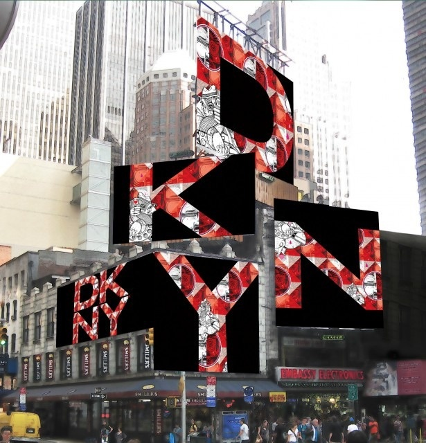 Though primarily a branding campaign, there is a sales tie-in: DKNY is releasing a #dknyartworks collection, featuring work printed on tote bags, scarves and other items. While DKNY may never reclaim its coveted spot on Houston Street, the brand should be applauded for thinking much bigger than a billboard this time around.