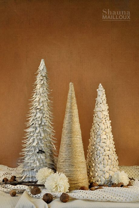 More DIY Christmas Trees. Too cute!!