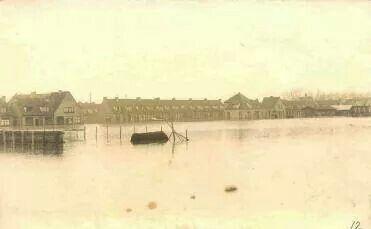 Hoog water Knutteldorp 1926
