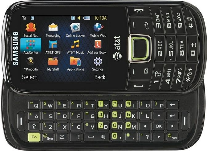 Samsung Evergreen A667 Unlocked GSM 3G Phone with Full