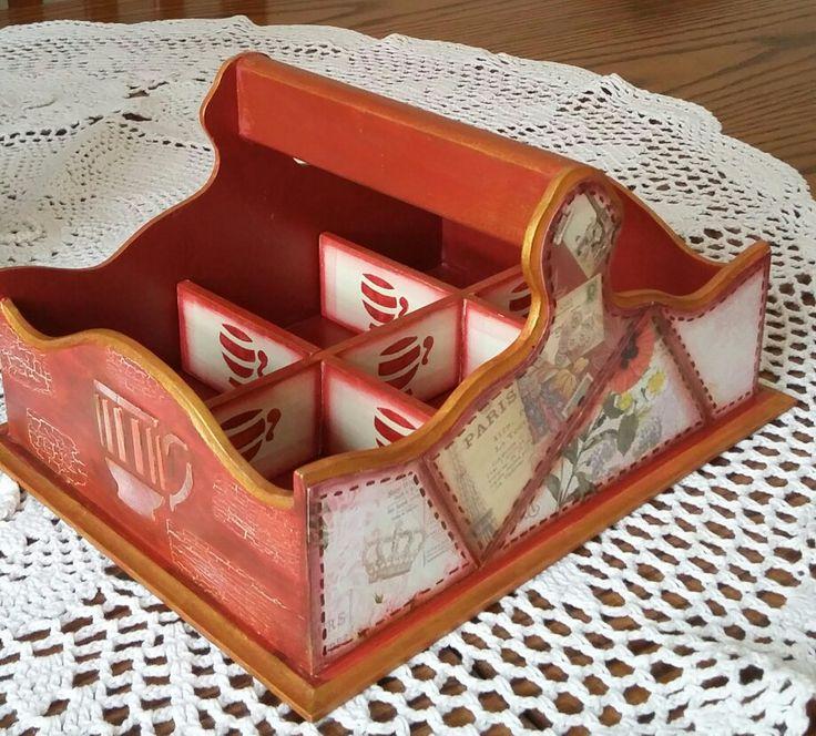 Caja porta  té
